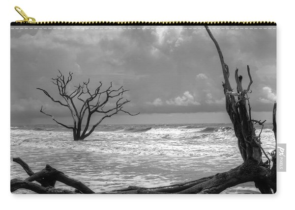 Carry-all Pouch featuring the photograph Lost To The Sea by Michael Colgate