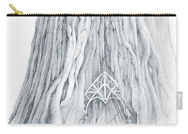 Lothlorien Mallorn Tree Carry-all Pouch