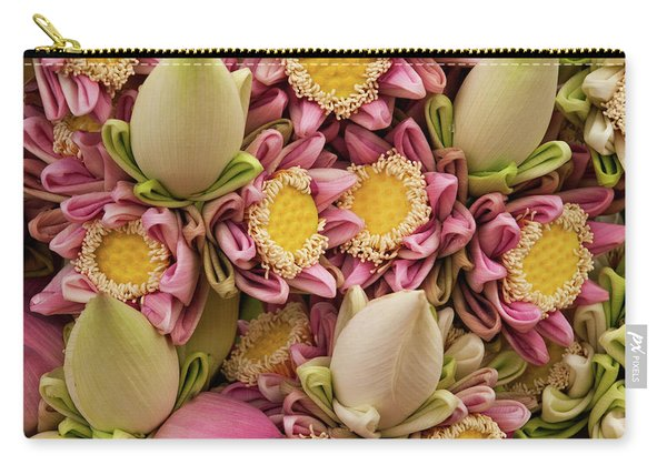 Lotus Buds 03 Carry-all Pouch