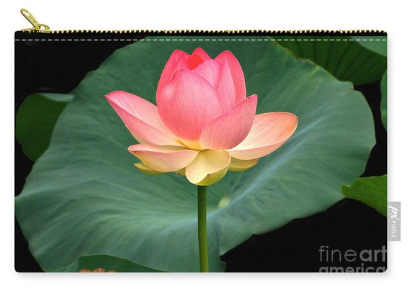Lotus Of Late August Carry-all Pouch
