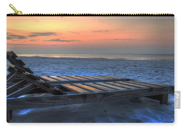 Lounge Closeup On Beach ... Carry-all Pouch