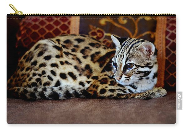 Lounging Leopard Carry-all Pouch