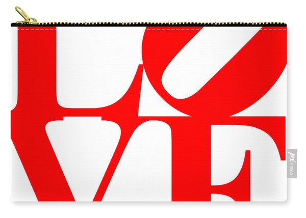 Love 20130707 Red White Carry-all Pouch