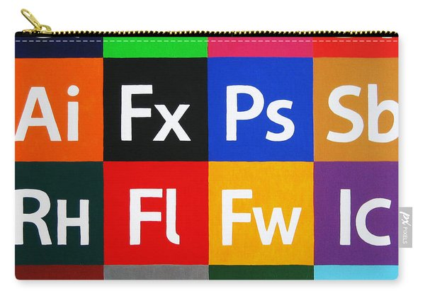 Love Adobe Carry-all Pouch