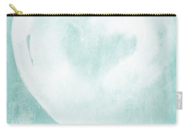 Love In Aqua Carry-all Pouch