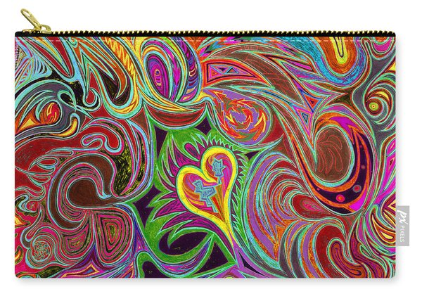 love in every shade of U v7 - love in every shade of blue Carry-all Pouch