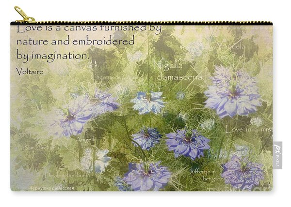 Love Is A Canvas Carry-all Pouch