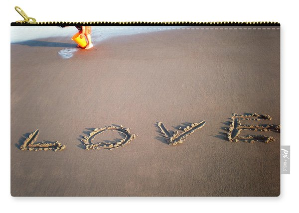 Love Is Blue Carry-all Pouch