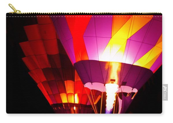 Carry-all Pouch featuring the photograph Love Is In The Air by Nancy Cupp