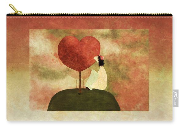 Love Tree -01b Carry-all Pouch