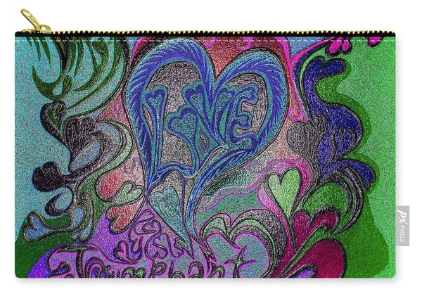 Love Triumphant 1of3 V7 Carry-all Pouch