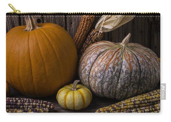Lovely Autumn Still Life Carry-all Pouch