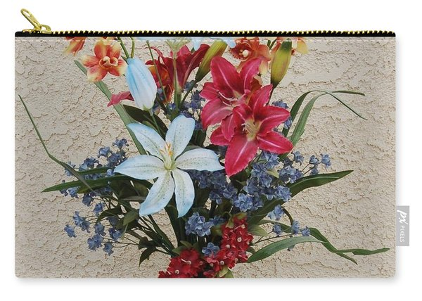 Lovely Bouquet Carry-all Pouch