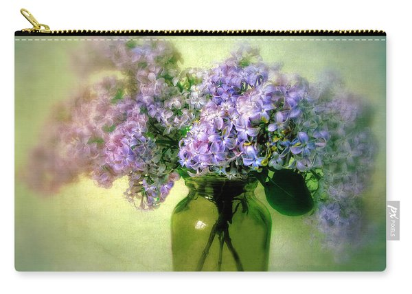 Lovely Lilac  Carry-all Pouch