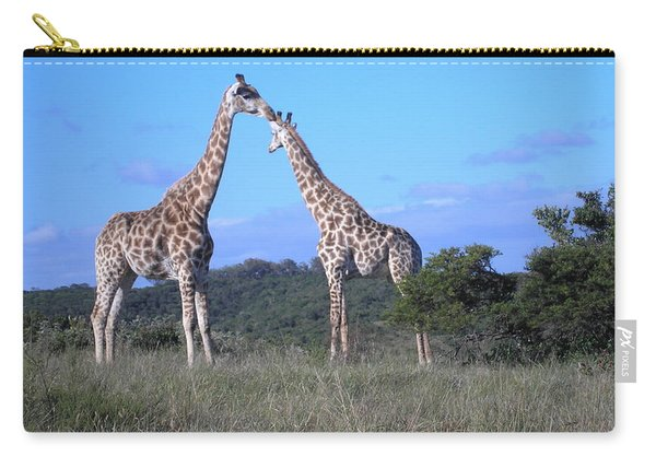 Lovers On Safari Carry-all Pouch