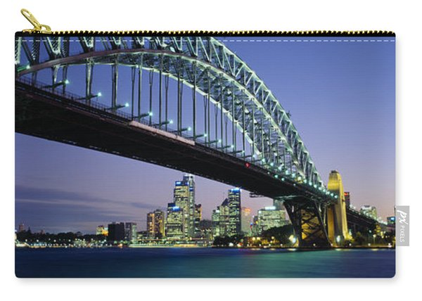 Low Angle View Of A Bridge, Sydney Carry-all Pouch