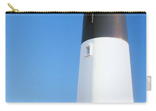 Low Angle View Of A Lighthouse, Hunting Carry-all Pouch