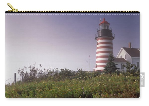 Low Angle View Of A Lighthouse, West Carry-all Pouch