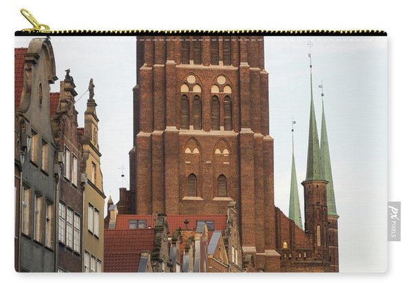 Low Angle View Of Tower Of St. Marys Carry-all Pouch