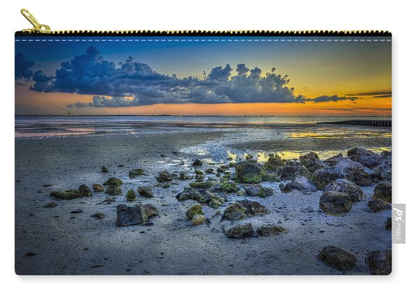 Low Tide On The Bay Carry-all Pouch