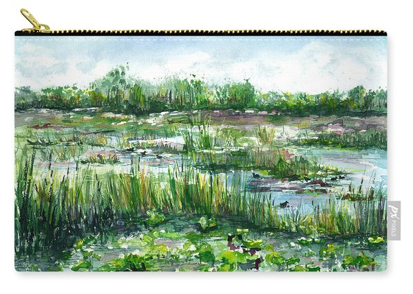 Loxahatchee Marsh Carry-all Pouch
