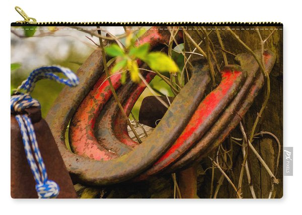 Lucky Horseshoes Carry-all Pouch