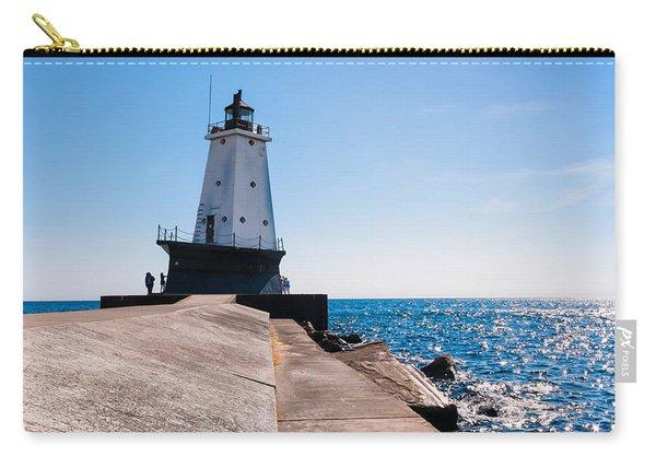Ludington Lighthouse Carry-all Pouch