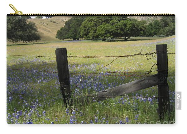 Lupines And Oaks Carry-all Pouch