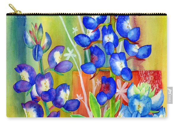 Lupinus Texensis Carry-all Pouch