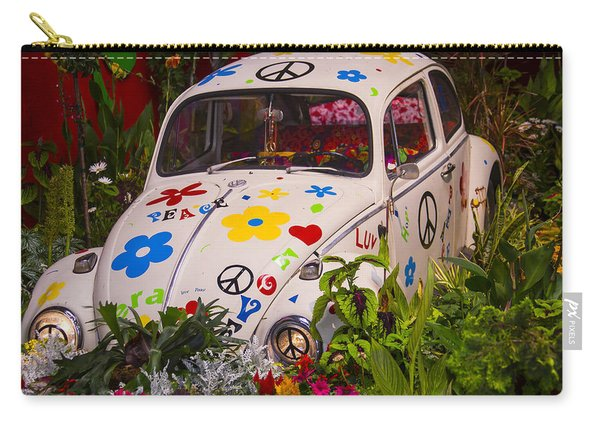 Luv Bug In The Garden Carry-all Pouch