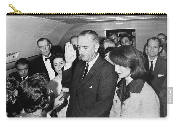 Lyndon Johnson Sworn In Carry-all Pouch