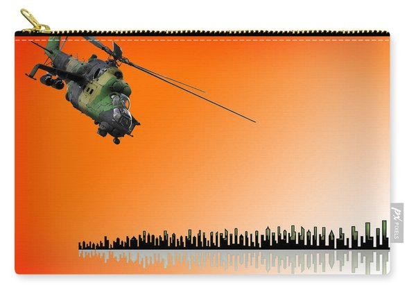 M I - 24 Hind Russian Attack Helicopter Carry-all Pouch