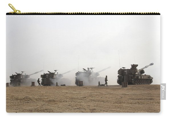 M109 Self-propelled Howitzers Firing Carry-all Pouch