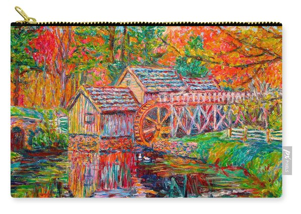Mabry Mill In Fall Carry-all Pouch