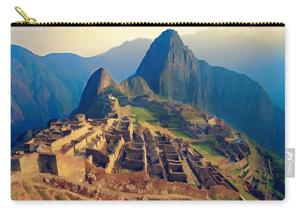 Machu Picchu Late Afternoon Sunset Carry-all Pouch