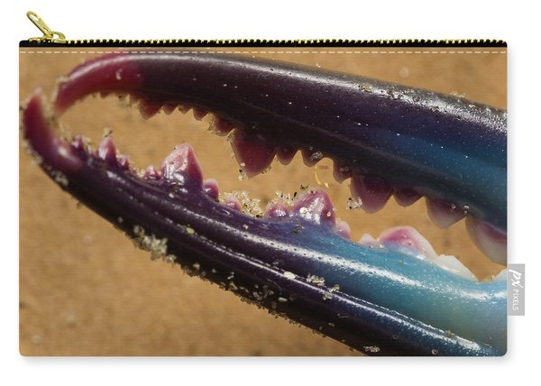 Macro Crab Claw Carry-all Pouch
