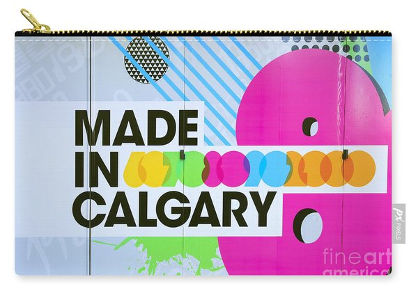 Made In Calgary Carry-all Pouch