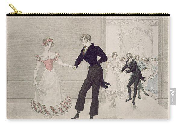 Mademoiselle Busc And Monsieur Corset Carry-all Pouch