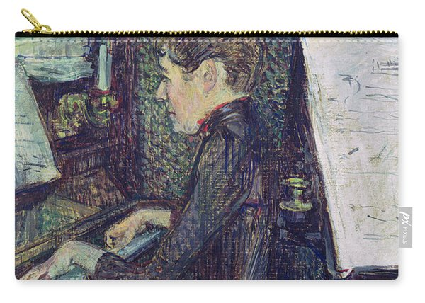 Mademoiselle Dihau At The Piano Carry-all Pouch