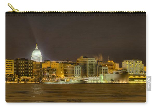 Madison - Wisconsin City  Panorama - No Fireworks Carry-all Pouch
