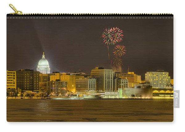Madison Skyline New Years Eve Carry-all Pouch