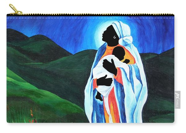 Madonna And Child  Hope For The World Carry-all Pouch