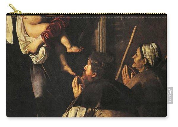 Madonna Dei Pellegrini Or Madonna Of Loreto Carry-all Pouch