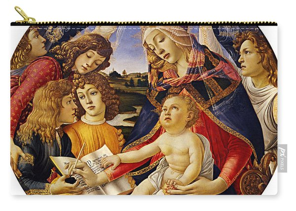 Madonna Of The Magnificat Carry-all Pouch