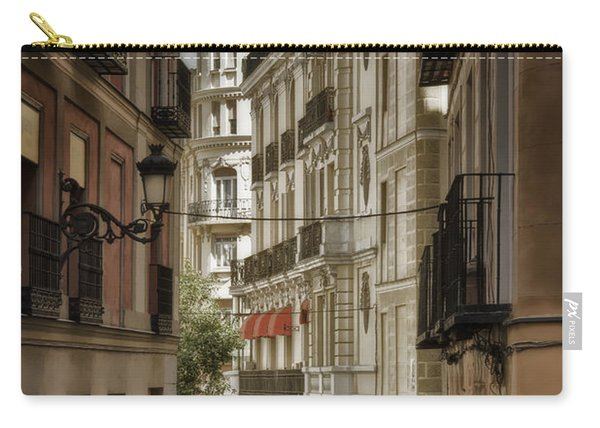 Madrid Streets Carry-all Pouch
