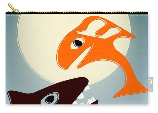 Magic Fish Carry-all Pouch