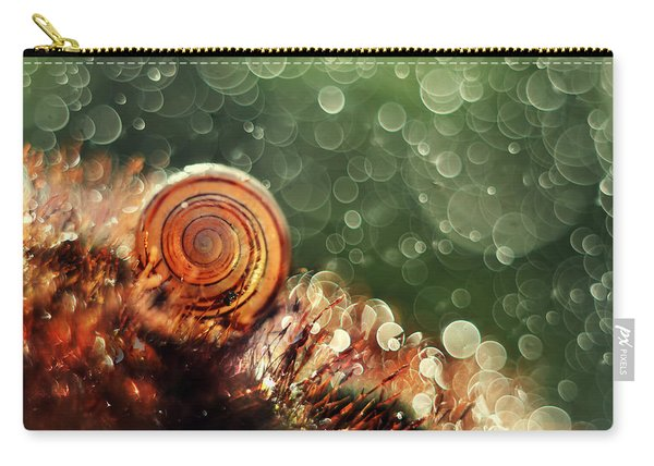 Carry-all Pouch featuring the photograph Magic Forest by Jaroslaw Blaminsky