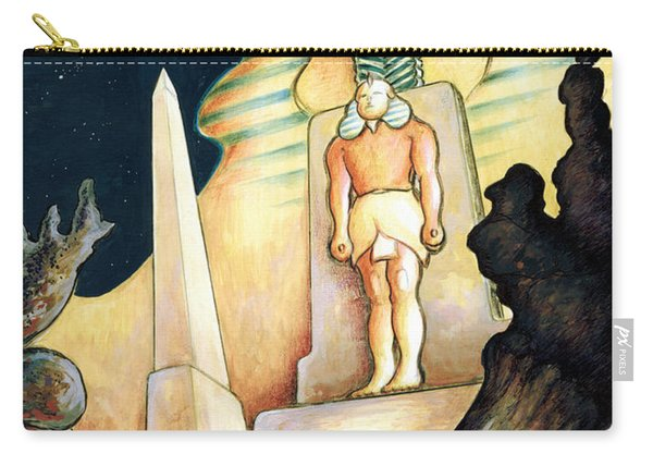Magic Vegas Sphinx - Fantasy Art Painting Carry-all Pouch