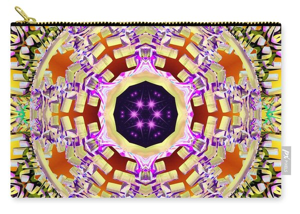 Carry-all Pouch featuring the digital art Magick Souls by Derek Gedney