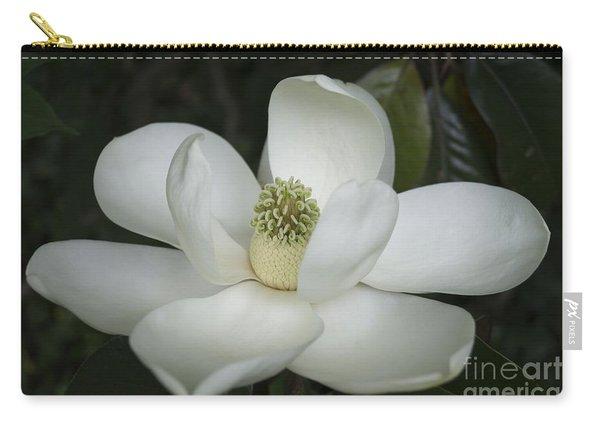 Magnolia Grandiflora Blossom - Simply Beautiful Carry-all Pouch